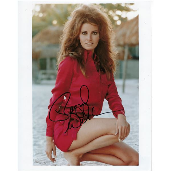 Racquel Welch signed photo