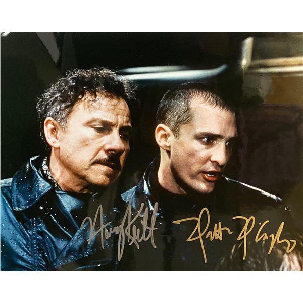 U-571 Matthew McConaughey and Harvey Keitel signed movie photo