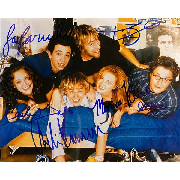 Undeclared cast signed photo