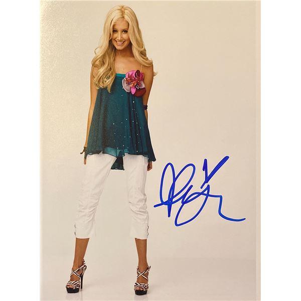 Ashley Tisdale signed photo