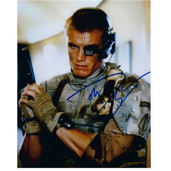 Universal Soldier Dolph Lundgren signed photo