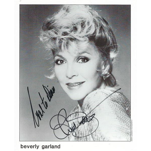 Beverly Garland signed photo