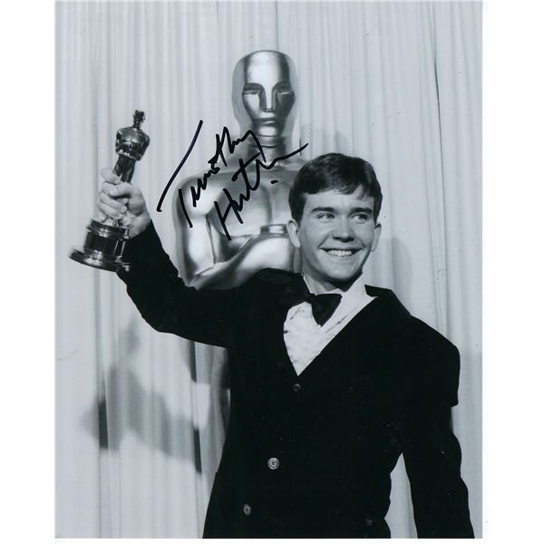 Timothy Hutton signed photo