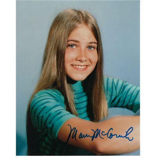 Maureen McCormick signed Marcia Brady photo