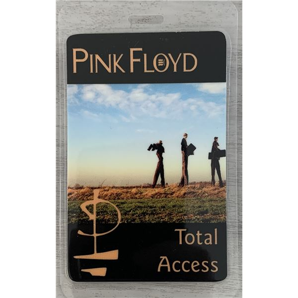 Pink Floyd Total Access backstage pass