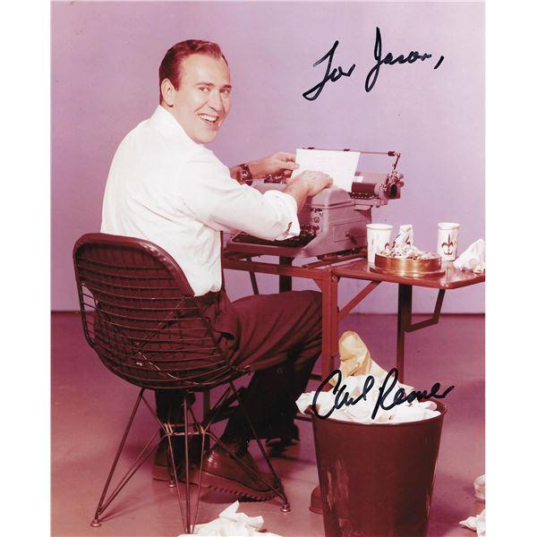 Carl Reiner signed photo