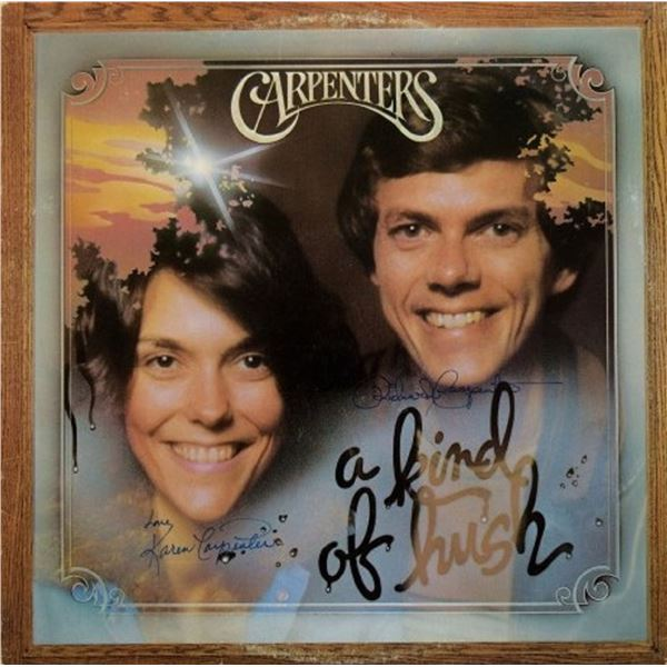 """The Carpenters signed """"A Kind Of Hush"""" album"""