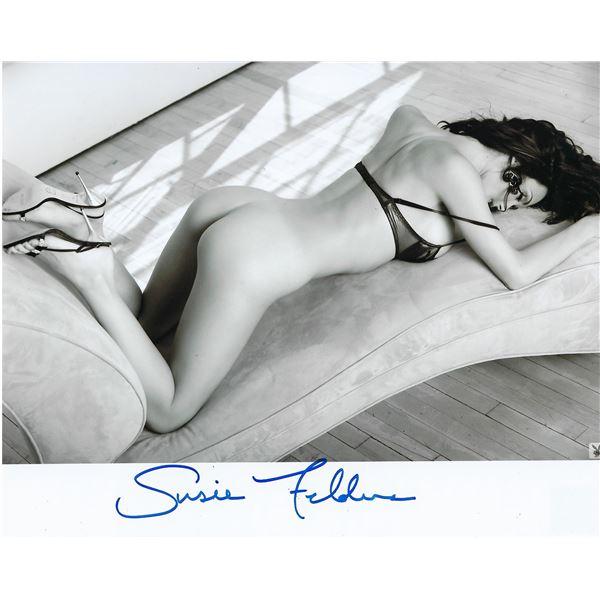 Playboy Model Susie Feldman signed photo