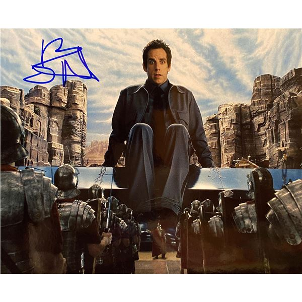 Night at the Museum Ben Stiller signed movie photo