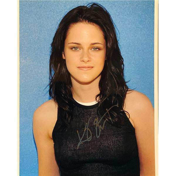 Kristen Stewart signed photo