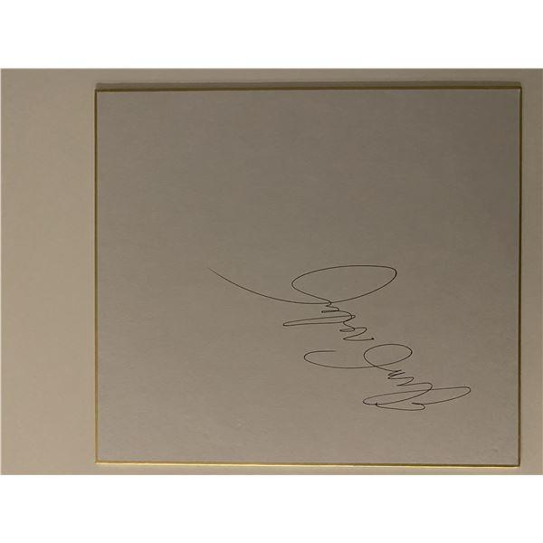 Elvis Presley original signature