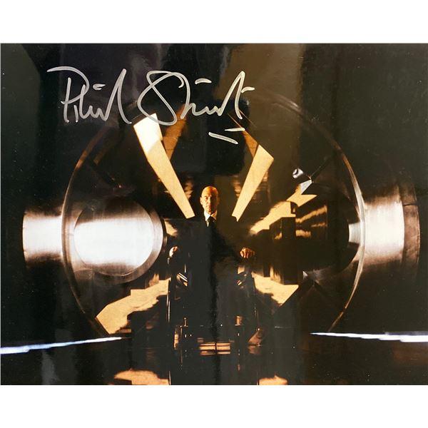 X-Men Patrick Stewart signed movie photo
