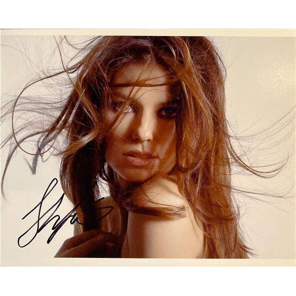 Shania Twain signed photo