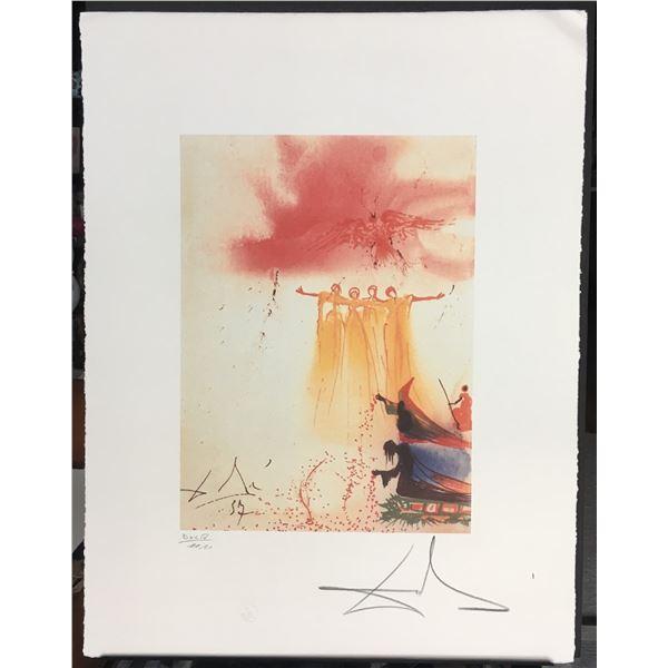 Salvador Dali Signed LE Lithograph