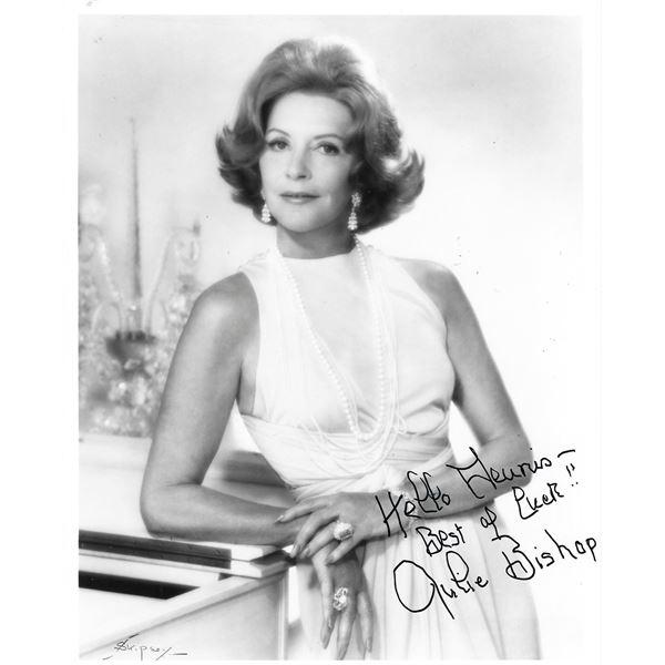 Julie Bishop signed photo