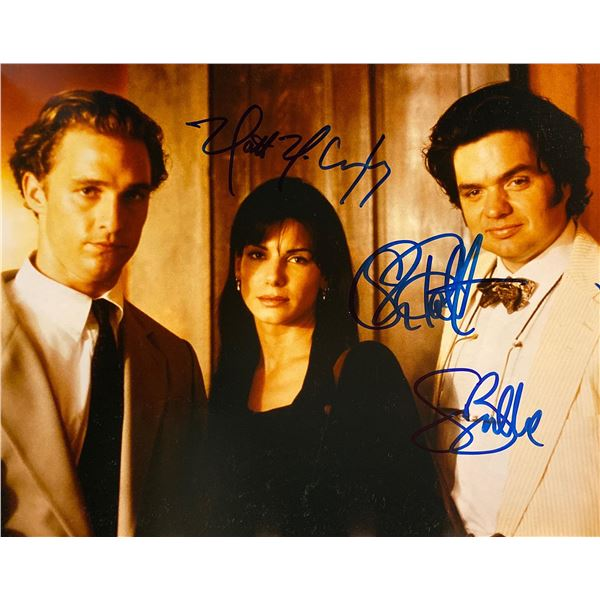 A Time to Kill cast signed movie photo