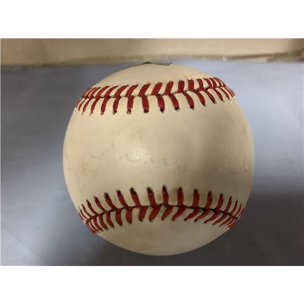 Happy Chandler signed baseball