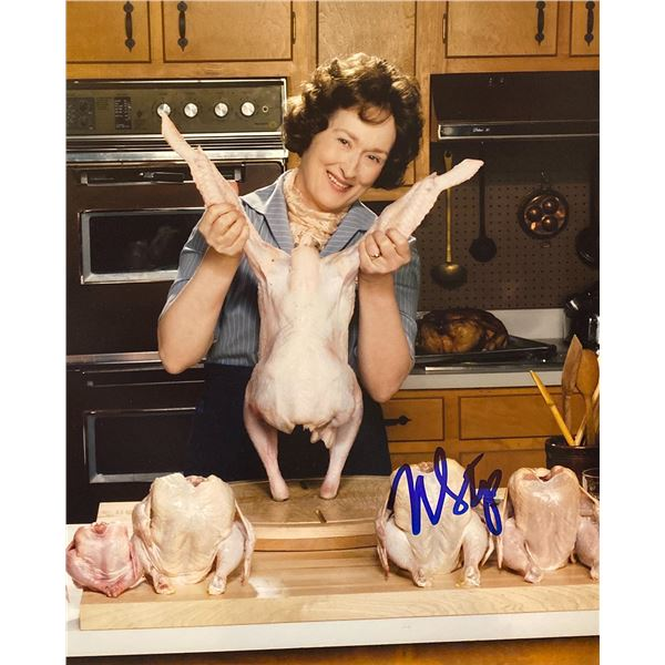 Julie & Julia Meryl Streep signed movie photo