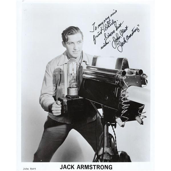 John Hart signed photo