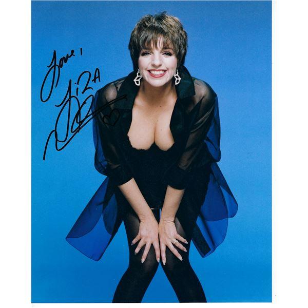 Liza Minelli signed photo