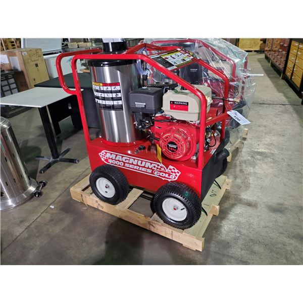 MAGNUM 4000 MOBILE HOT WATER PRESSURE WASHER WITH WAND AND HOSES