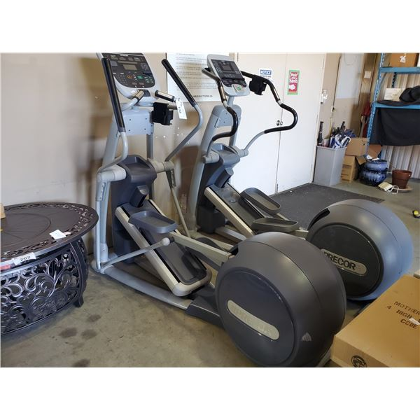 PRECOR EFX COMMERCIAL SELF POWERED ELLIPTICAL CROSS TRAINER WITH DISPLAY