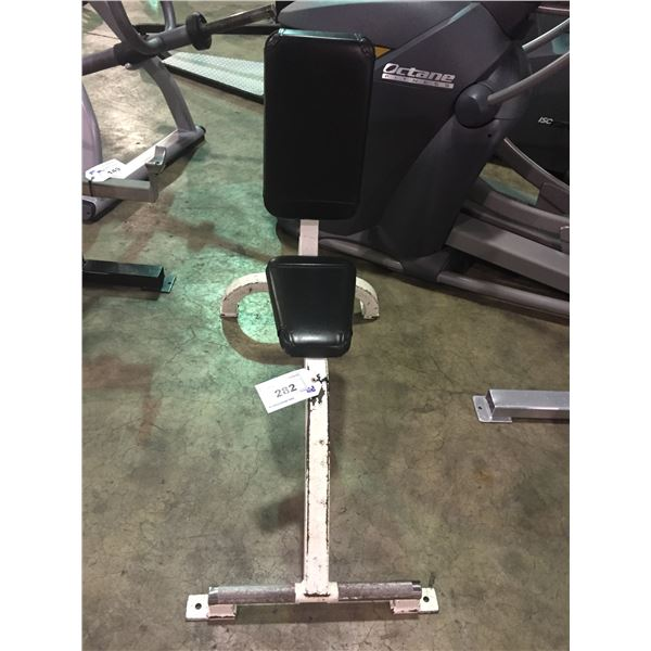 CYBEX COMMERCIAL FIXED UPRIGHT FREE WEIGHT BENCH