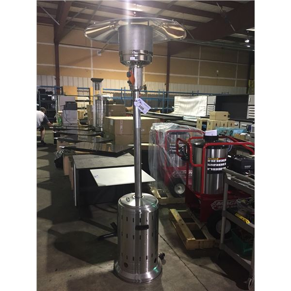 PARAMOUNT L10-SS-P P STAINLESS STEEL OUTDOOR PROPANE PATIO HEATER