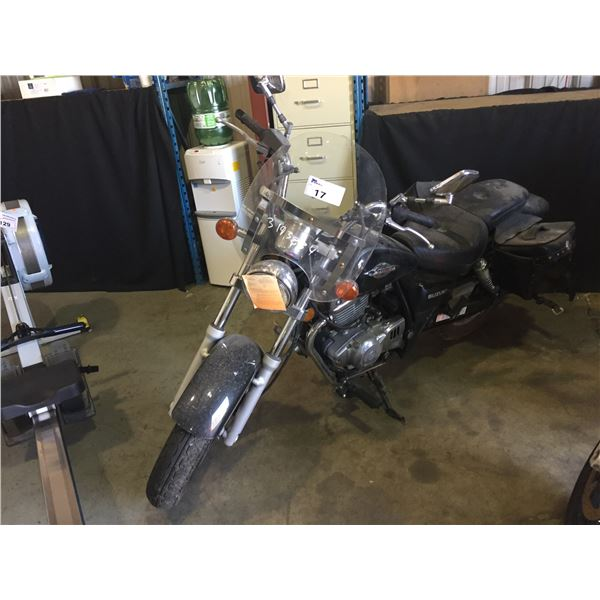 2003 SUZUKI MARAUDER, MOTORCYCLE, BLACK, VIN # VTTNJ48A632100925,