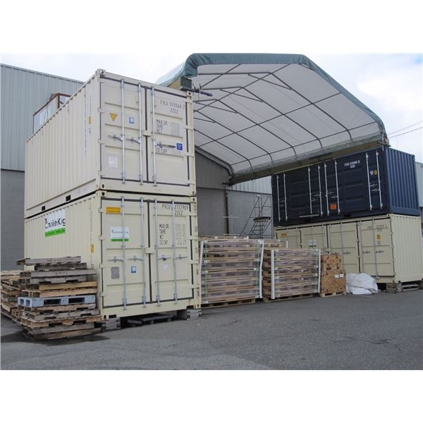 *W TMG INDUSTRIAL TMG3040CST HD 30' X 40' TRANSPORT CONTAINER TO TRANSPORT CONTAINER COVER BUILDING