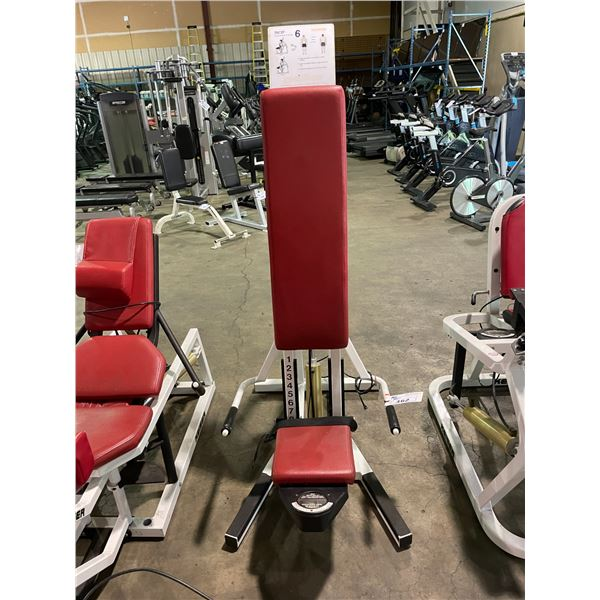 KEISER COMMERCIAL COMPRESSED AIR POWERED TRICEP PRESS MACHINE