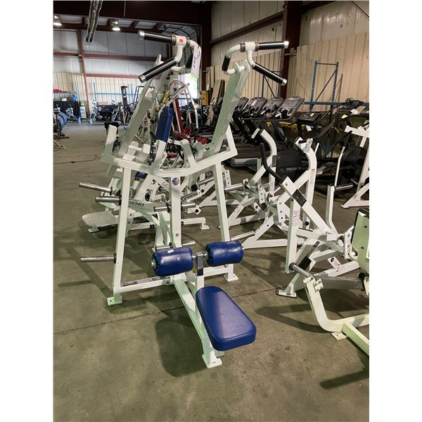 LEVER EDGE COMMERCIAL FREE WEIGHT LAT PULLDOWN MACHINE