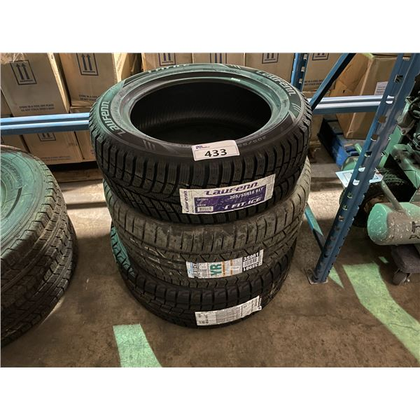 3 ASSORTED HIGH PERFORMANCE VEHICLE TIRES