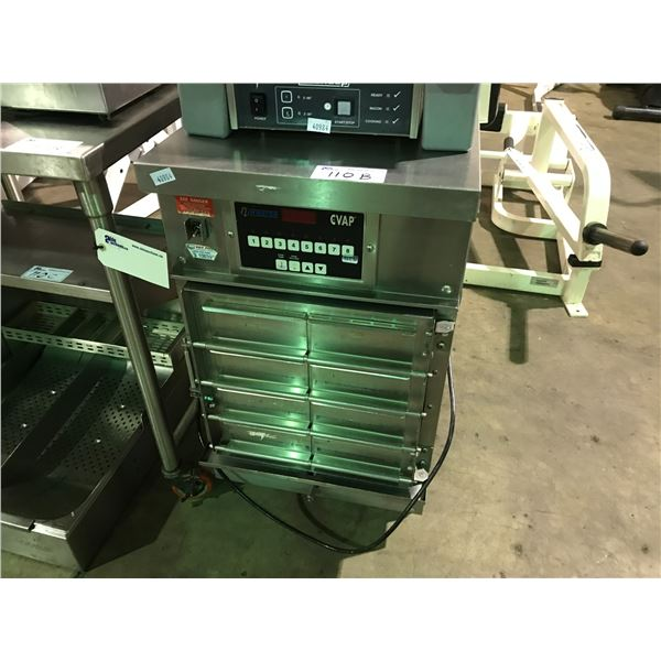 """WINSTON CVAP 8-BAY STAINLESS STEEL COMMERCIAL COOK & HOLD OVEN 20""""W X 26""""D X 36""""H"""
