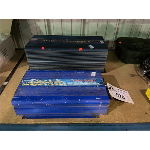 SAMLEX 2750 WATT AC POWER SOURCE & 1000 WATT DC TO AC POWER INVERTER