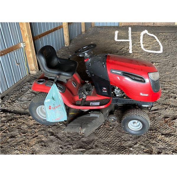 20 H.P. Craftsman YS4500 R/Mower