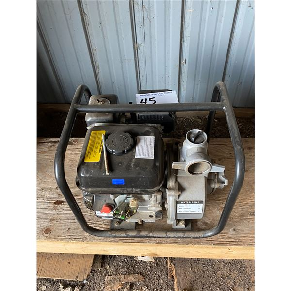 Brand New 6.5 H.P. Water Pump