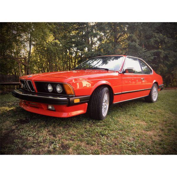 1982 BMW 633 CSI E-24