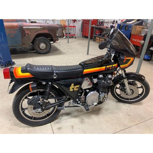 1978 Z1R TC TURBO 1000 BLACK MOLY RARE !!