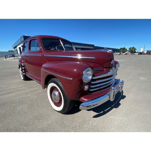 1948 FORD SUPER DELUXE LOW MILE