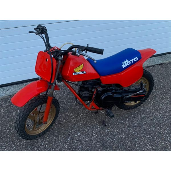 NO RESERVE! RARE 1983 HONDA QR5O MINI MOTO