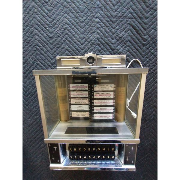 NO RESERVE! Tabletop display only light up up jukebox ( heavy)