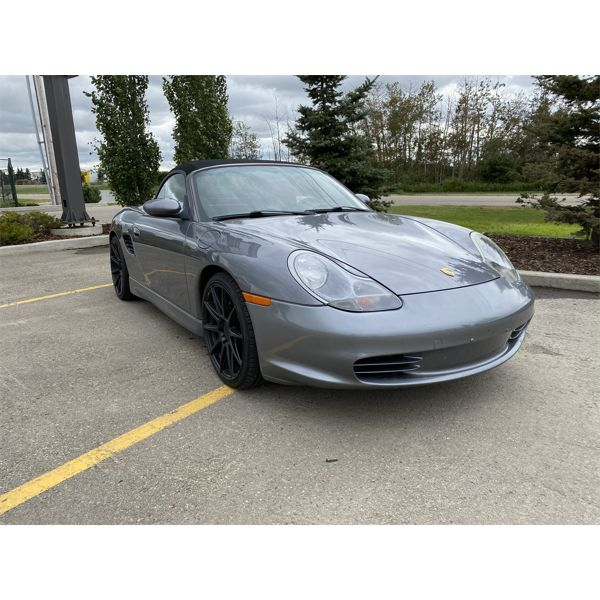 2003 PORSCHE BOXSTER WITH ONLY 82,000KMS