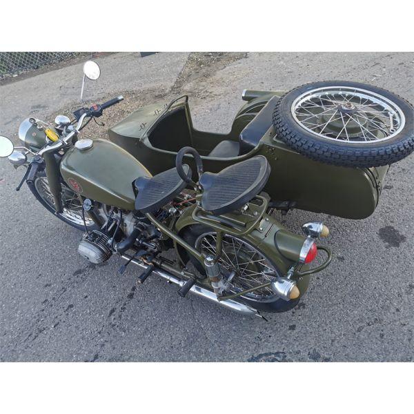 1957 CHANG JIANG 750 (1937 R71 BMW REPLICA MOTOR CYCLE.)