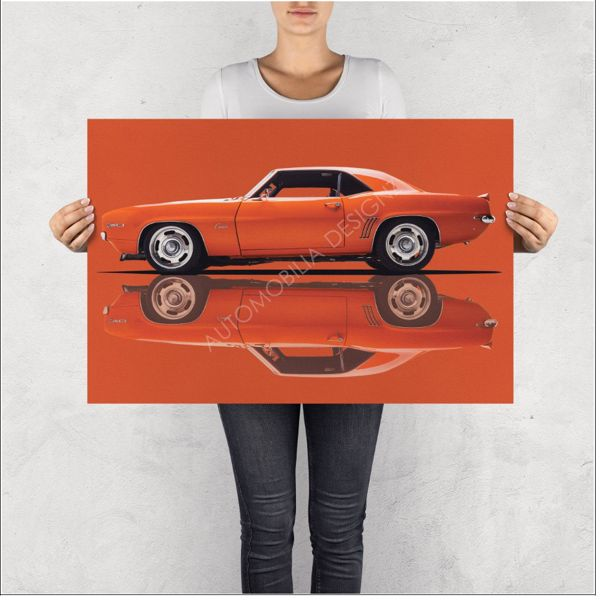 """NO RESERVE LIMITED EDITION PRINT """"Z28"""""""