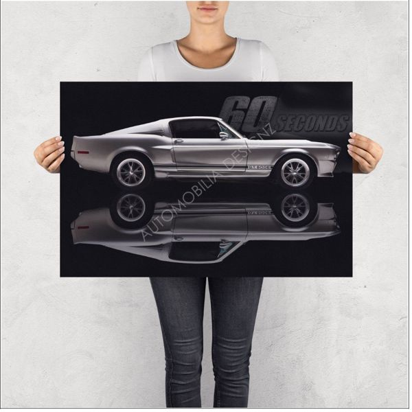 """NO RESERVE LIMITED EDITION PRINT """"GONE IN 60 SECONDS"""""""