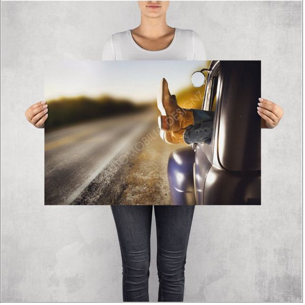 """NO RESERVE! LIMITED EDITION PRINT """"TAKEN IT EASY"""""""
