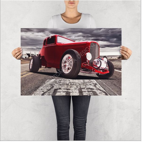 """NO RESERVE LIMITED EDITION PRINT """"ROADSTER"""""""