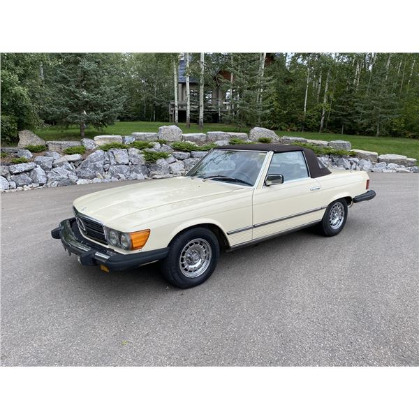 1980 MERCEDES-BENZ SL 450 CONVERTIBLE