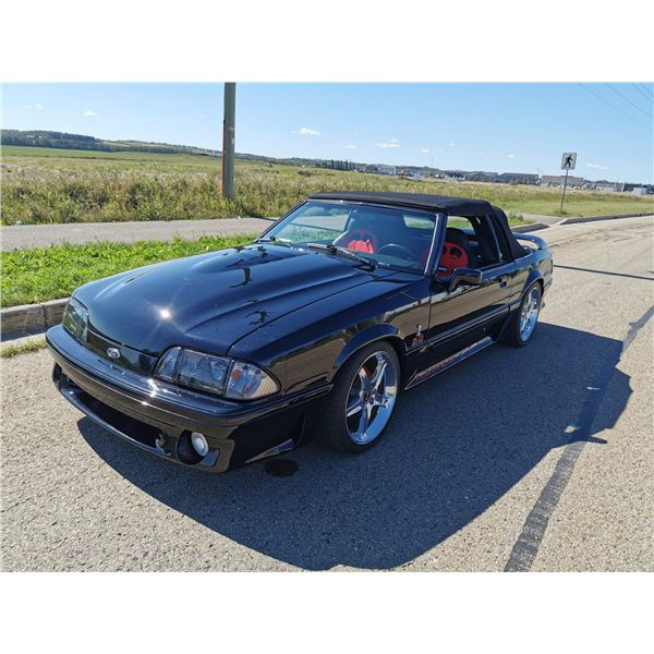1990 FORD MUSTANG 5.0 COVERTIBLE